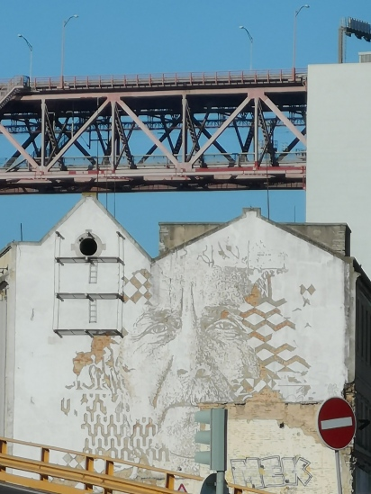 The artwork on the walls of Lisbon is very beautiful and often filled with history.